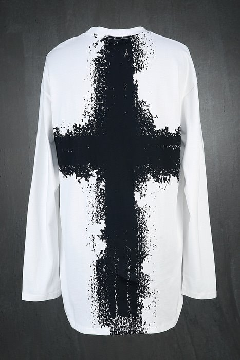 ByTheRBack Cross Painting Long Sleeves