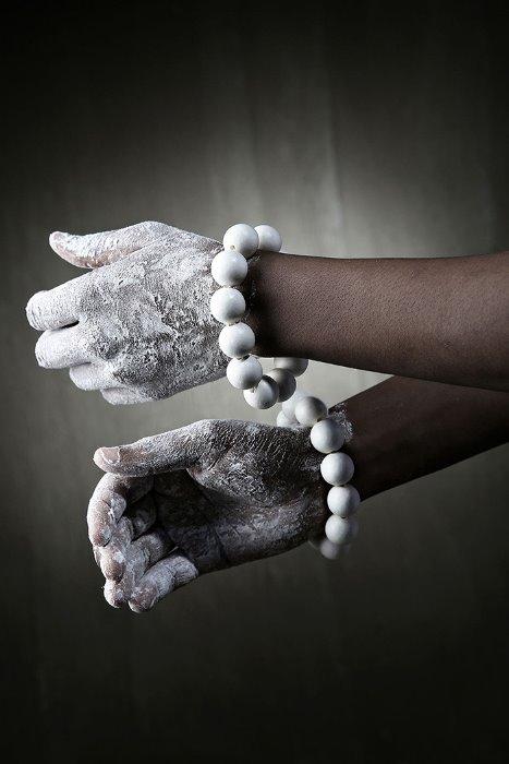 ByTheRMukha Oriental Bulky Bead Bracelet