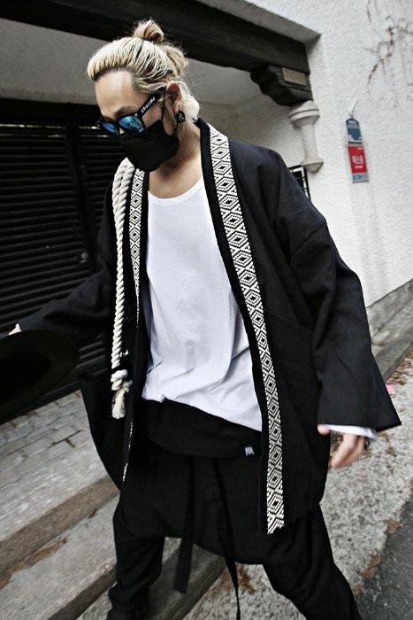 ByTheRMukha ethnic band robe cardigan