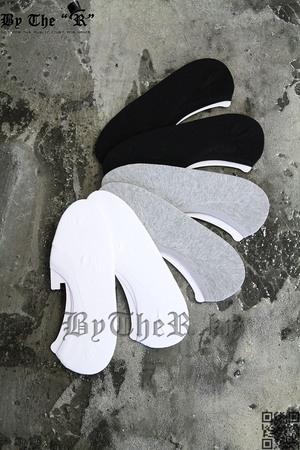 ByTheR基本款素色彈性隱形襪
