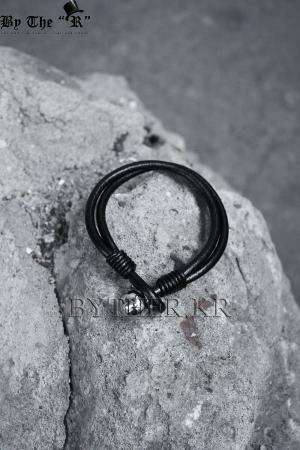 ByTheR雙環帶圓珠點綴手環