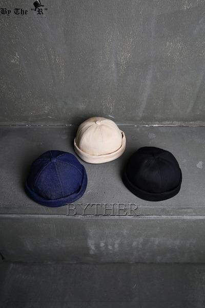 ByTheR休閒反摺釦帶圓帽
