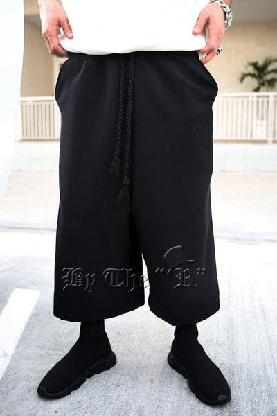 ByTheRByTheR現代風尚鬆緊腰寬松褲