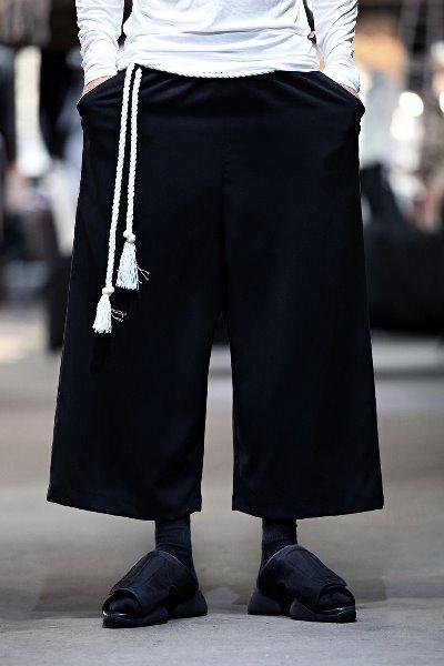 ByTheRByTheR宽松超大阔腿裤