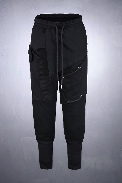 ByTheRByTheR Pannel Layered Extra Band Jogger Pants