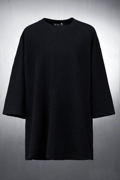 ByTheRByTheR 素色壓紋寬版T恤
