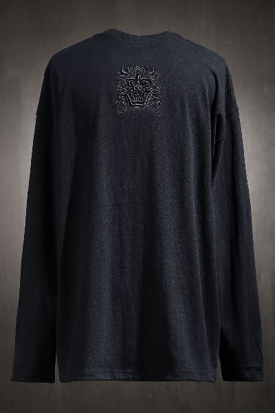 ByTheRByTheR Goblin Embroidered Long Sleeve Black