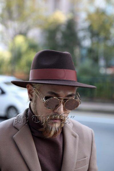 ByTheRByTheR Classic Brief Felt Hat
