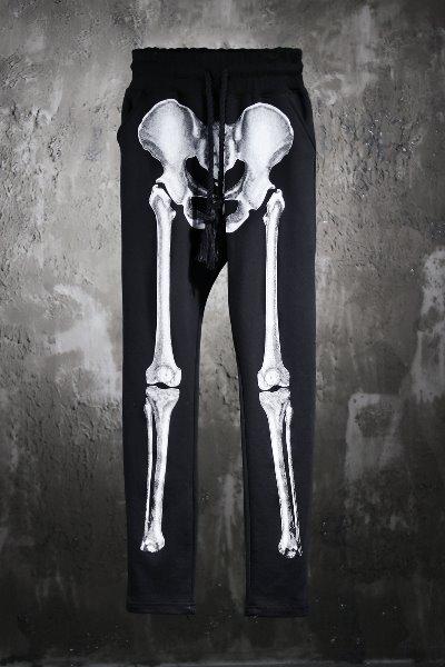 ByTheRByTheR Skeletal Print Training Pants