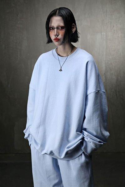 ByTheRLoose fit 3-layer sweatshirt