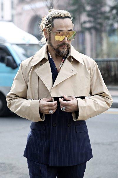 ByTheRCut layered cropped French jacket