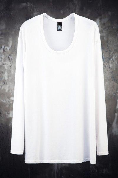 ByTheRMukha Rouge Line U-neck T-shirt