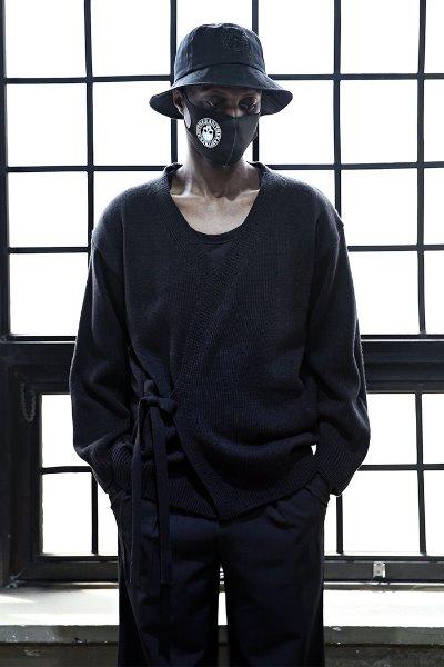 ByTheRLoose-fit robe-knit cardigan