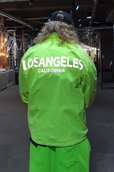 ByTheR洛杉矶夜光字母拉链外套
