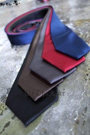 ByTheR經典紳士風素色領帶