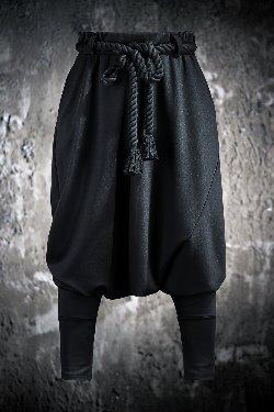 ByTheRByTheR阿拉丁低襠哈倫褲(包含繩索腰帶)