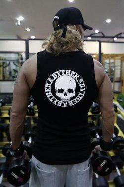 ByTheRByTheR Logo Print Slim Fit Tank Top