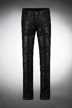 ByTheRByTheR虎皮紋coating褲