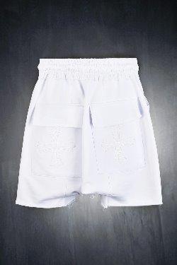 ByTheRByTheR十字架口袋短裤