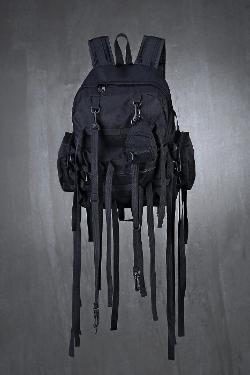 ByTheRMulti Pocket Strap Mini Backpack
