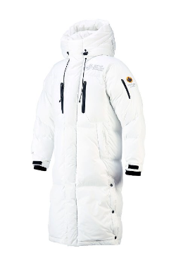 ByTheRMountain Guard Himalaya Heavy Long Duck Down White