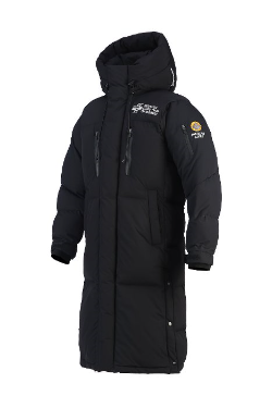 ByTheRMountain Guard Himalaya Heavy Long Duck Down Black