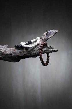 ByTheRMukha Oriental Bead Bracelet