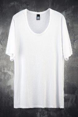 ByTheRMukha Rouge Line U-neck Short Sleeve T-shirt