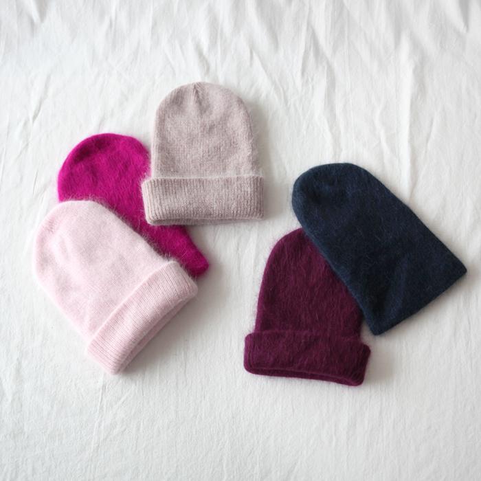 Fuzzy Knit Beanie