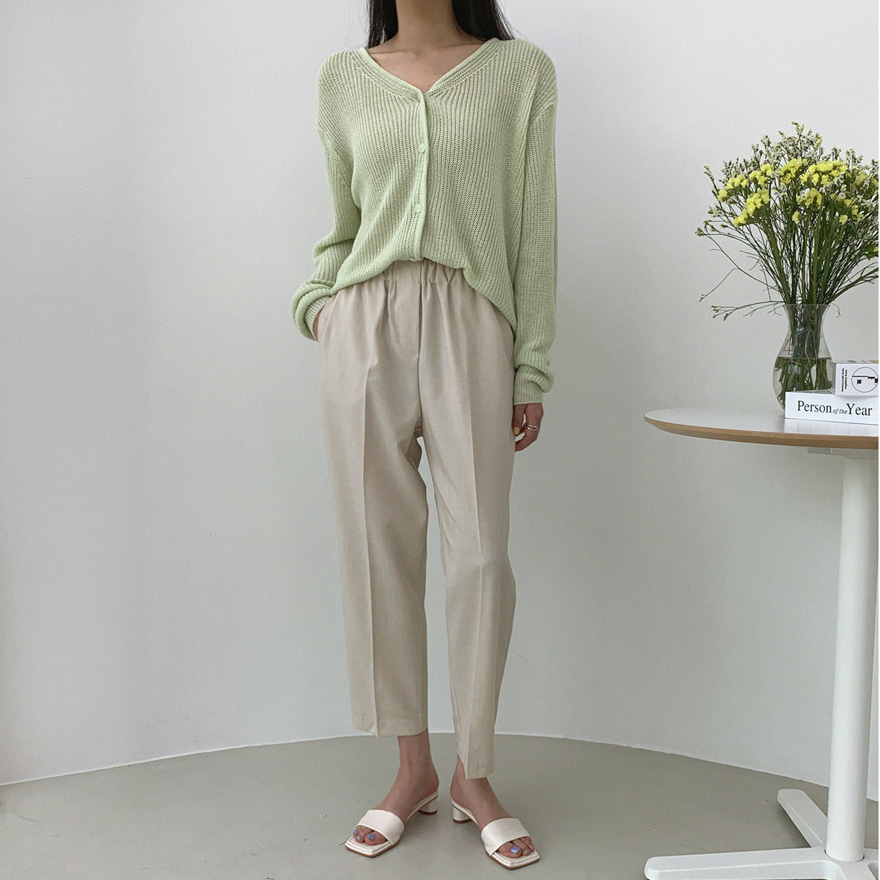 Basic Solid Tone Pants