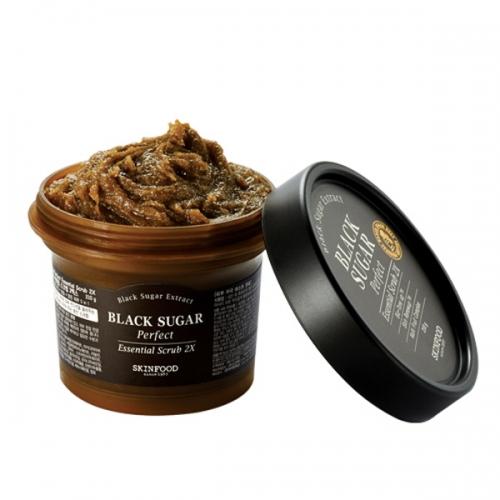 SkinFood NEW Black Sugar Perfect Essential Scrub 2X 210g