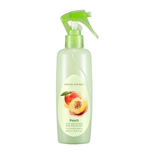 NATURE REPUBLIC Skin Smoothing Body Peeling Mist Peach 250ml