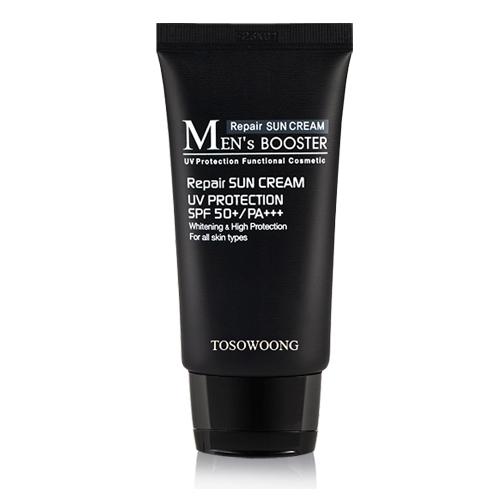 TOSOWOONG Men's Booster Sun Cream SPF50+ PA+++ 45ml