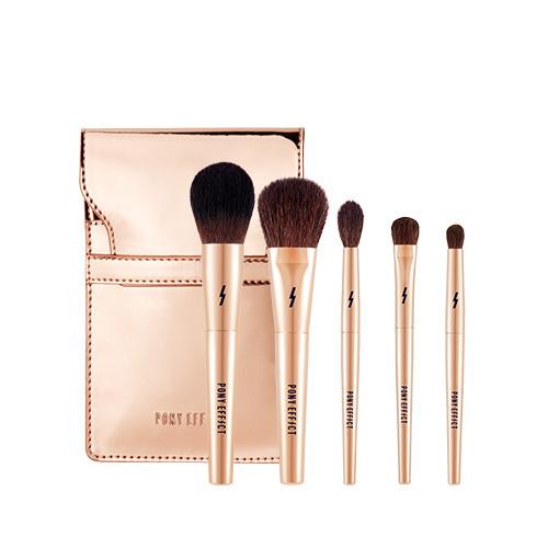 PONY EFFECT Mini Makeup Brush Set