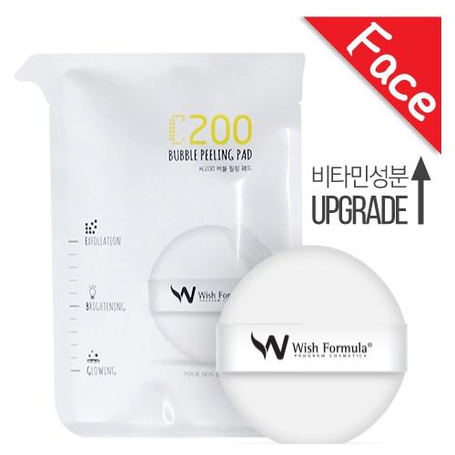 Wish Formula C200 Bubble Peeling Pad 4ea
