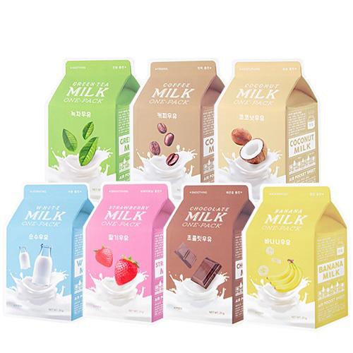A'PIEU Milk One Pack * 3 sheets
