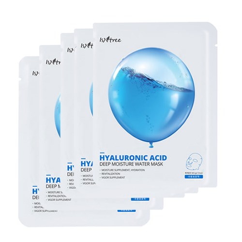 Isntree Hyaluronic Acid Deep Moisture Water Mask 20g * 5ea