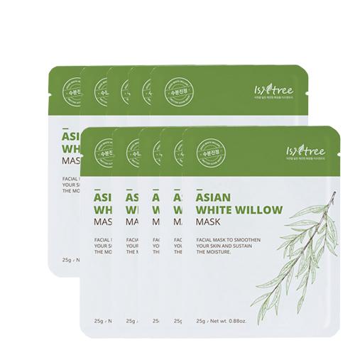 Isntree Asian White Willow Mask 25g * 10ea