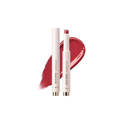 the SAEM Eco Soul Kiss Button Lips 2g