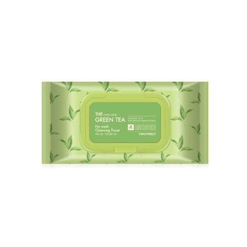 TONYMOLY The Chok Chok Green Tea No Wash Cleansing Tissue 100ea
