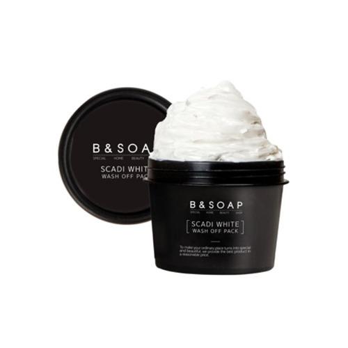 B&SOAP Scadi White Wash Off Pack 110g