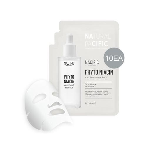 NACIFIC Phyto Niacin Whitening Mask Pack 25g * 10ea