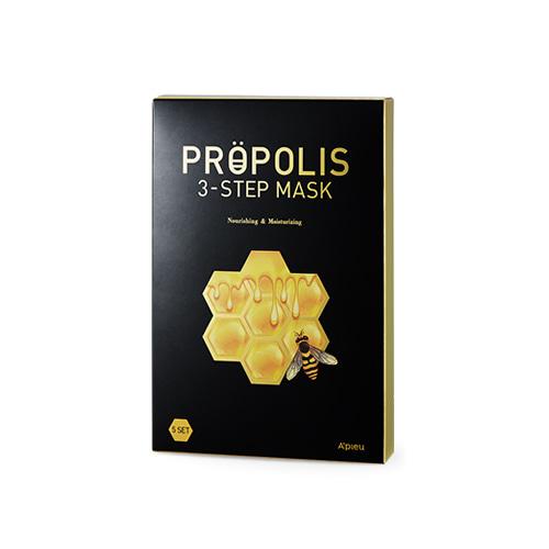 A'PIEU Propolis 3 Step Mask 5ea