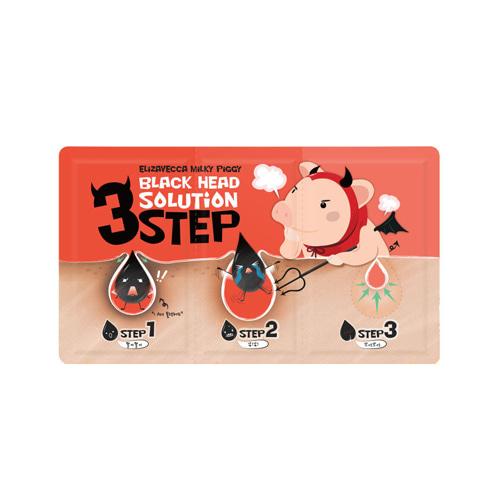 Elizavecca Milky Piggy Black Head Solution 3 step