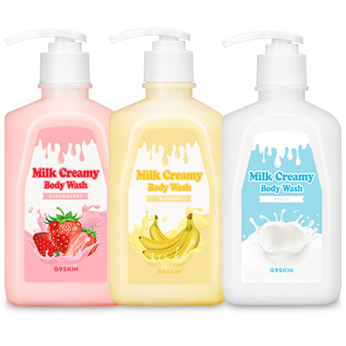 G9SKIN Milk Creamy Body Wash 520g
