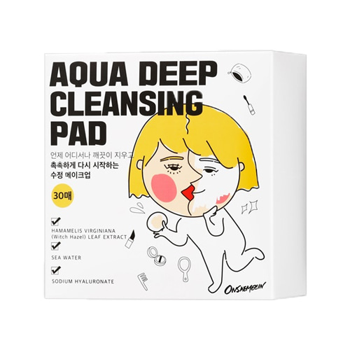 ONSAEMEEIN Aqua Deep Cleansing Pad 30ea SET