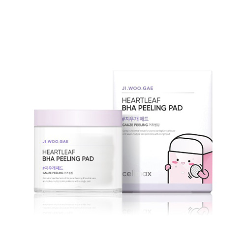 celimax Jiwoogae Heartleaf BHA Peeling Pad 60pcs
