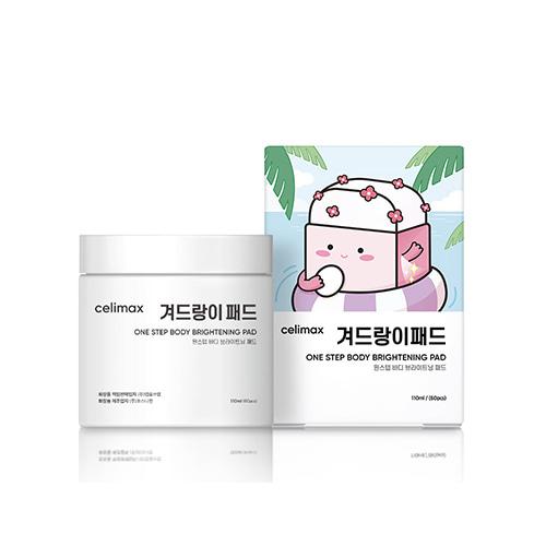 celimax Jiwoogae One Step Body Brightening Pad 60pcs