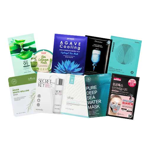 Mask Sheet Trial Kit (Summer)
