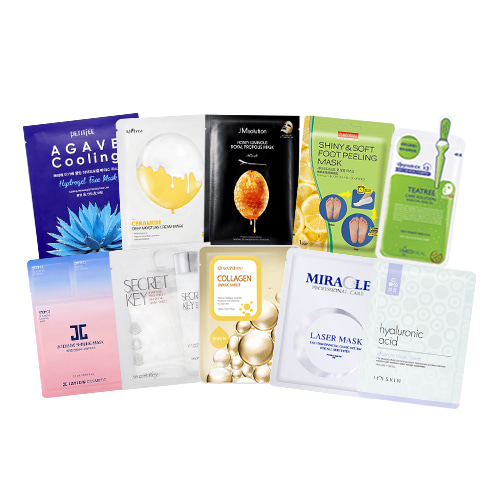 Mask Sheet Trial Kit (Favorite)